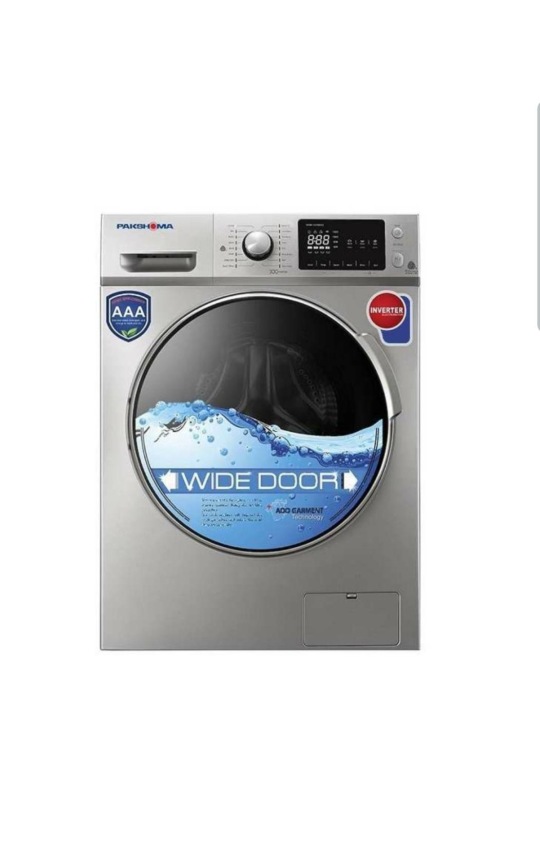 ماشین لباسشویی پاکشوما مدل WFI-83413 ظرفیت ۸ کیلوگرم