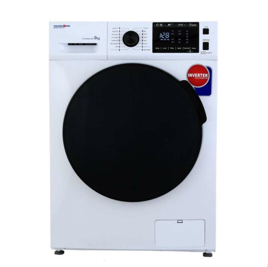 ماشین لباسشویی پاکشوما مدل TFI 93401 ظرفیت ۹ کیلوگرم